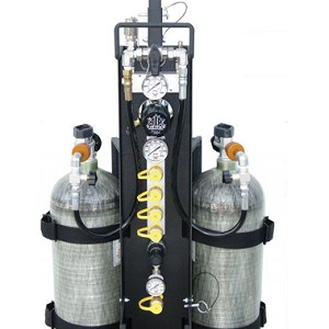 Air Systems MP-4RSS MP 4RSS MULTI PAK SCBA Confined Space Rescue Cart