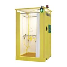 Bradley S19374 Indoor Enclosed Safety Shower with Hot Water Tank