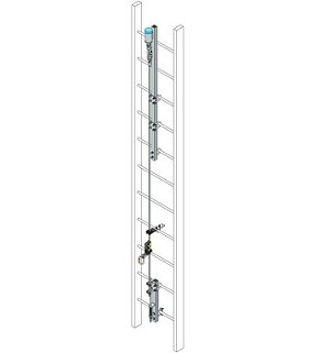 Miller Honeywell TRS/50FT Vi-Go Ladder Climbing Safety System Kit