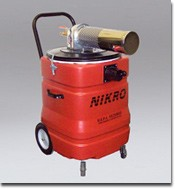 NIKRO AWC15150 AWC 15150 15 Gallon Polyethylene Compressed Air Powered Vacuum Cleaning Equipment