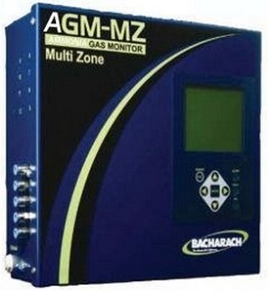 Bacharach 3015 5335 AGM-MZ AGM MZ Ammonia Gas Leak Monitor Multi Zone