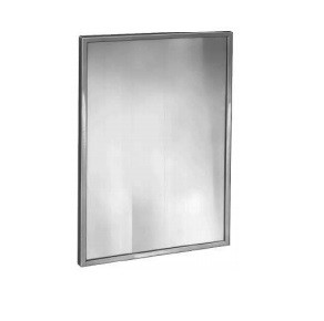 "Bradley 781-042360 Mirror, Channel Frame, 42"" x 36"""