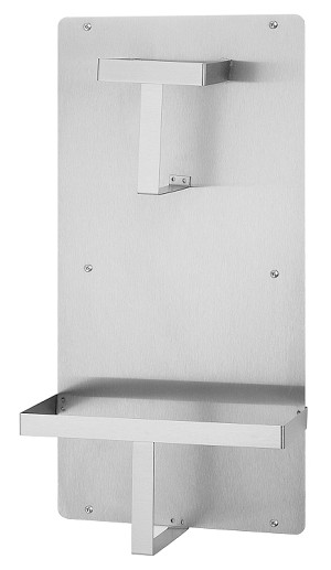 Bradley 9905-000000 Bedpan and Urinal Holder, Stainless