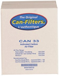 Can-Filters CAN 33 Activated Carbon Air Filter 12 Inch