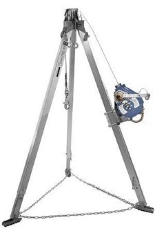DBI SALA 8301000 Sealed SRL Tripod Confined Space Kit Fall Protection