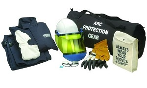 Chicago Protective AG20 20 CAL Jacket and Bib Arc Flash Clothing Kit