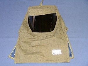 Chicago Protective SWH-74-HC 74 CAL Arc Flash Hood With Hard Cap
