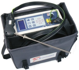 E Instruments E8500 E 8500 Flue Gas Emissions Combustion Analyzer