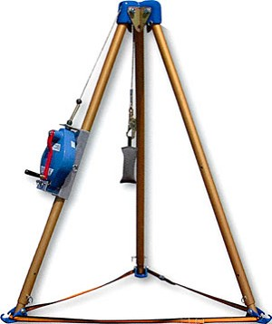 Falltech 7500S Confined Space Tripod Kit Safety Equipment