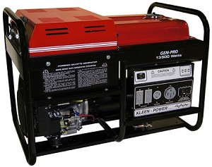 Gillette GPE-135EK GPE 135EK 13500 Watt Portable Gas Power Generator