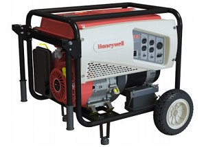 Honeywell 6152-1 Portable Generator 7500-Watt Gas Powered Electric Start