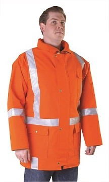 Honeywell TNV01LMG/O Cold Conditions Fire Retardant Parka Small