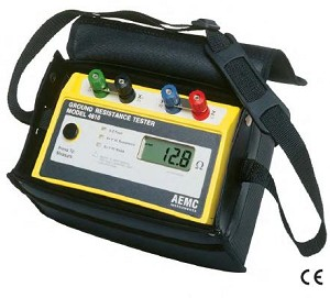 AEMC 4610 2114.94 4-Point Ground Resistance Tester Instruments Meter