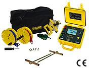 AEMC 4620 2135.19 4-Point Ground Resistance Tester Kit 150 Ft Meter