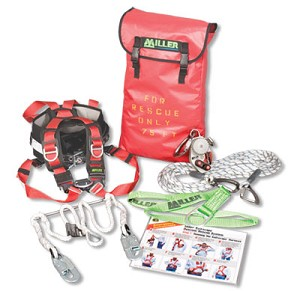 Miller SECRKT/250FT SafEscape Elite Crane Rescue Kit 250ft Fall Protection