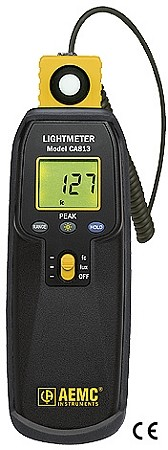 AEMC CA813 CA 813 2121.21 Lightmeter with Optical Sensors