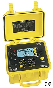 AEMC 5070 2130.30 5000V Digital-Analog Graphing Megohmmeter Instruments