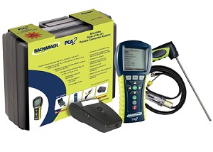 Bacharach 24-8447 PCA 3 PCA3 225 Combustion Analyzer Kit (with O2, CO/H2-compensated measurement)w/printer