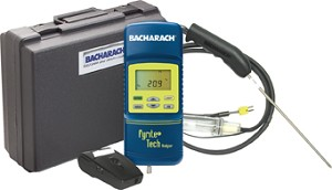 Bacharach 24-8326 Fyrite Tech Residential Combustion Analyzer Combustion Analyzers Tech 60 Kit with Printer
