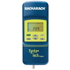 Bacharach 24-8226 Fyrite Tech Residential Combustion Analyzer Combustion Analyzers Tech 60 Kit