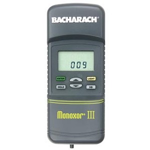 Bacharach 19-8105 Monoxor III Monoxor 3 CO Monitor Kit