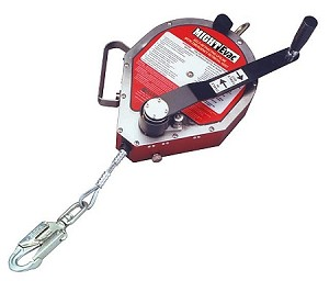 Miller MR50G/50FT MightEvac Galvanized Self Retracting Lifeline