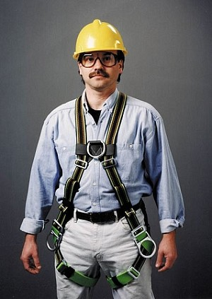Miller E650FD-7/UGN DuraFlex Stretchable Safety Harness