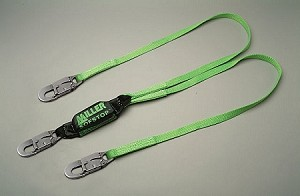 Miller 8878T/6FTGN HP SofStop Shock Absorber Double Lanyard