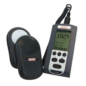 Kimo LX 100 Lux Light Exposure Intensity Meter Photometer
