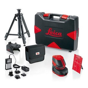 Leica Lino 820685 L2P5 Pro Package Crossline 5 Point Laser Level