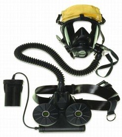Honeywell Sperian SC420 SC 420 561064 CBRN Powered Respirator (NIOSH) with D-Cell Battery Medium