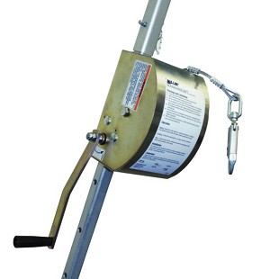 Miller 8442SS/100FT 8442SS 100FT ManHandler Hoist Winch Confined Space Entry