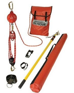 Miller Honeywell QP/100FT QP 100 FT Quick Pick Premium Rescue Kit
