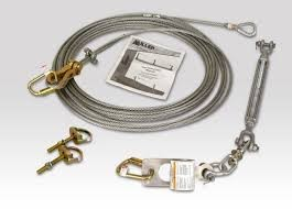 Miller Honeywell SkyGrip SG497/60FT Wire Rope Horizontal Lifeline Kit