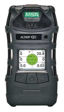 MSA A-ALT5X-BLKB100C020 Multi-Gas Detector, Graphical LCD