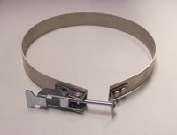 "Nikro 860822 10"" Quick Connect Air Duct Cleaning Equipment Hose Clamp"