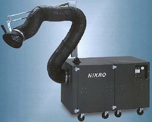 NIKRO AP1800 AP 1800 Dust and Fume Extraction Equipment