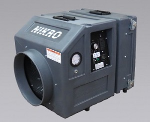 Nikro PS600-22050 Mini Portable Poly HEPA Air Scrubber 220V 50Hz