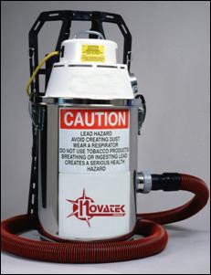 Novatek 305.3150 Electric Backpack HEPA Filter Vacuum 3.3 Gallon