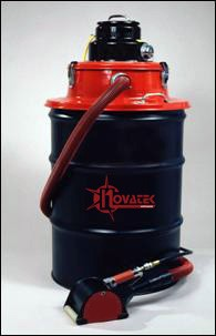 Novatek 308.3100 Pneumatic HEPA Filter Vacuum 55 Gallon Drum Adaptor