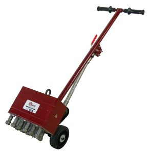 Novatek NFS-11 Concrete Floor Scabbler Pneumatic Surface Preparation
