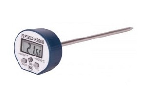 Reed R2000 Stainless Steel Digital Stem Thermometer