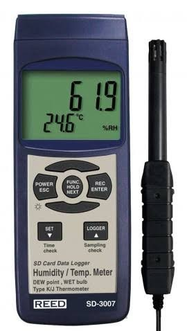 Reed SD-3007 Data Logging Thermo-Hygrometer