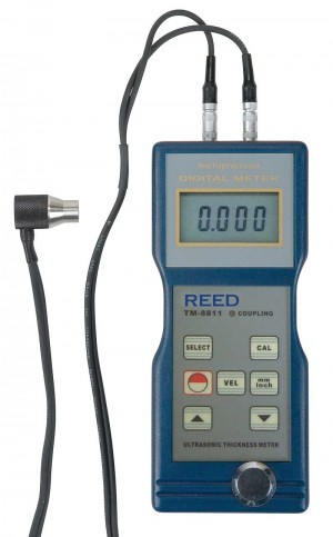 Reed TM-8811 Ultrasonic Thickness Gauge