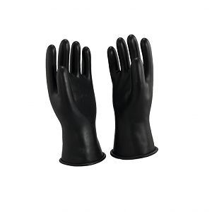 Oberon RG-B-C00-R11-11 Class 00 Rubber Electrical Gloves