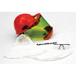 Salisbury Honeywell SKA10 Safety Kit Hard Hat With Faceshield Safety Glasses AS Bag