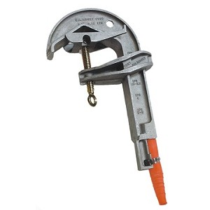 Salisbury Honeywell 2991 Aluminum Smooth Jaw C-Style Clamp 6.62 Inch Jaw Opening