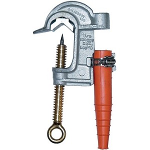 Salisbury Honeywell 4290 Aluminum Smooth Jaw Spiking Clamp 2.4 Inch Jaw Opening