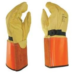 Salisbury Honeywell LP4S Leather Protector Glove Domestic Cowhide 13 Inch