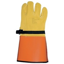 Salisbury Honeywell LP5S Leather Protector Glove Domestic Cowhide 14 Inch
